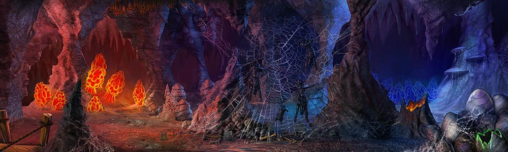В глубине страшного логова воины, осмелившиеся посетить это место, обнаружат, помимо.  Крэтса мясника.